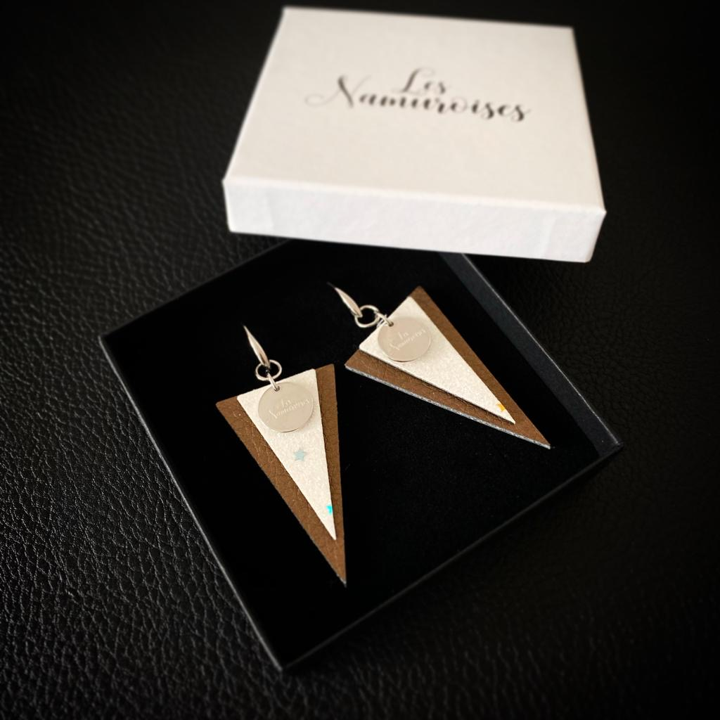 Les Namuroises - Boucles - Triangles - 05
