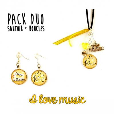 [Pack DUO] I love music