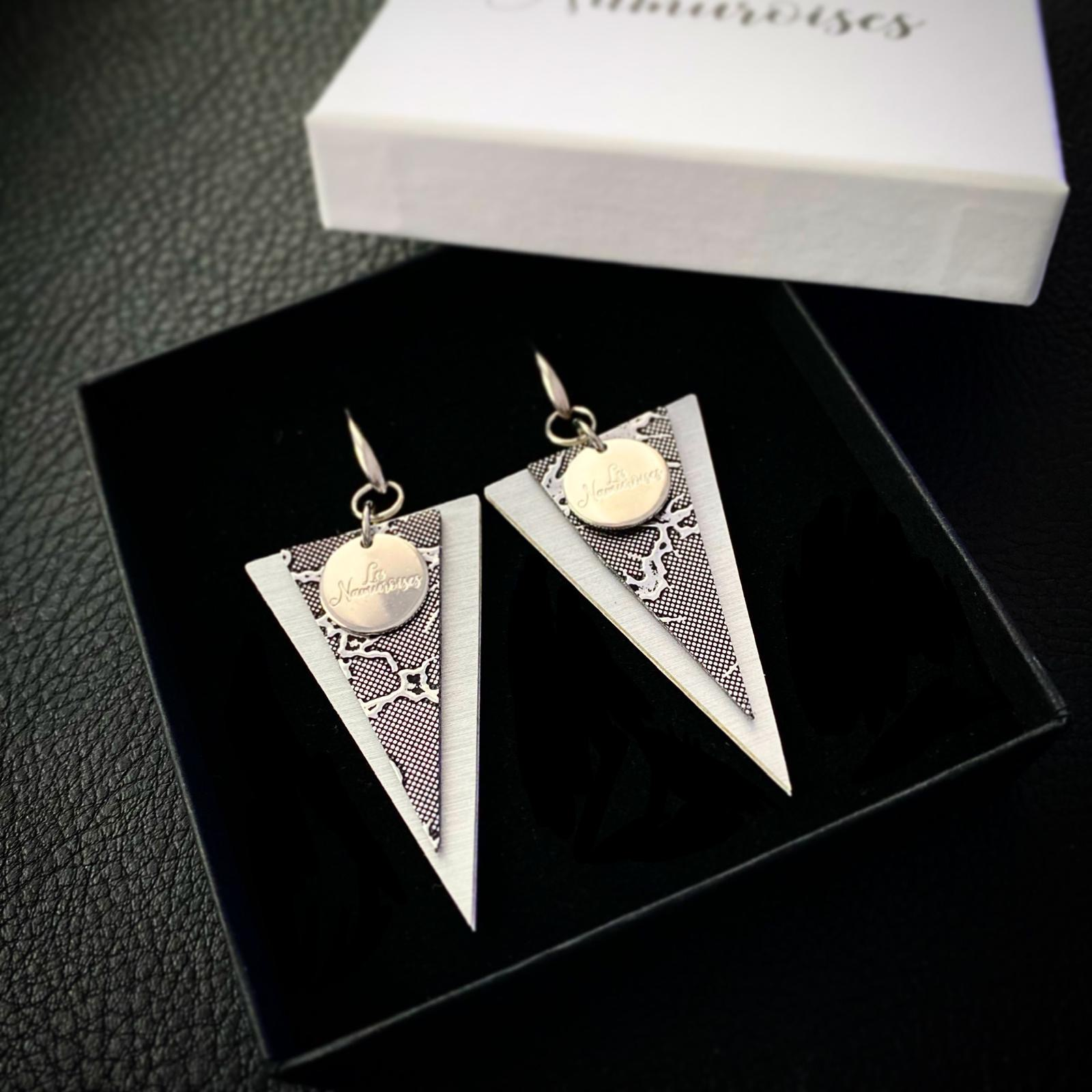Les Namuroises - Boucles - Triangles - 02