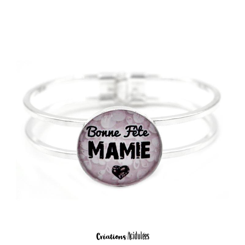 prix le plus bas 0f481 6acc8 Bracelet - Bonne fête mamie