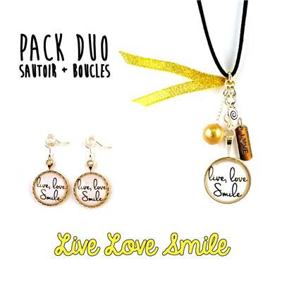 [Pack DUO] Live Love Smile