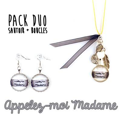 [Pack DUO] Appelez-moi Madame
