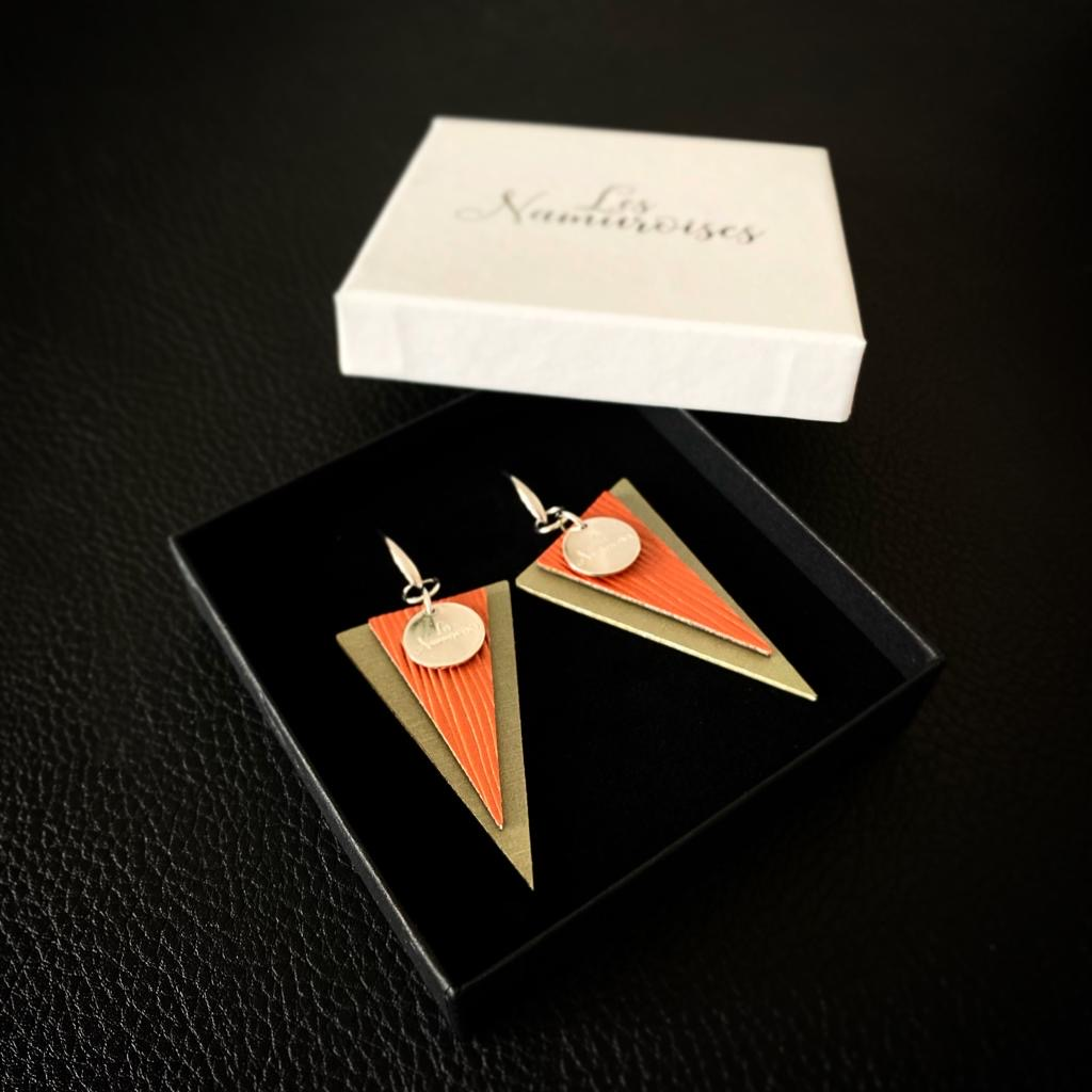 Les Namuroises - Boucles - Triangles - 06