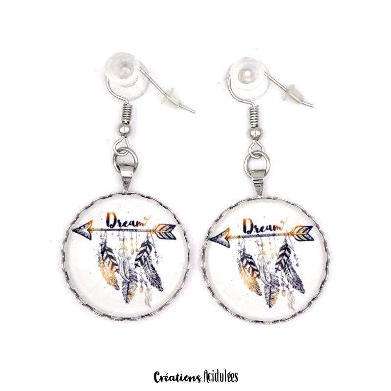 Boucles d'oreilles - Dream (or)