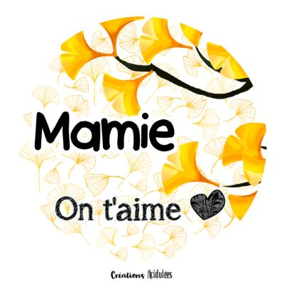 Mamie on t'aime - Déclinaisons d'articles