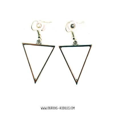 Boucles - breloques - Triangles