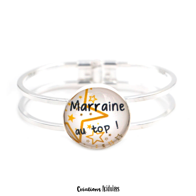 Bracelet - Marraine au top (doré)